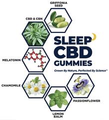 sleep cbd gummies chamomile melatonin